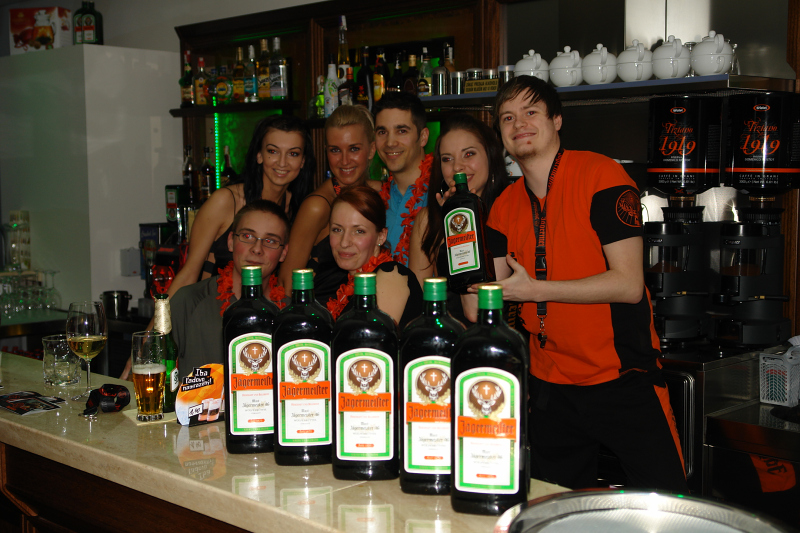 Jagermeister party